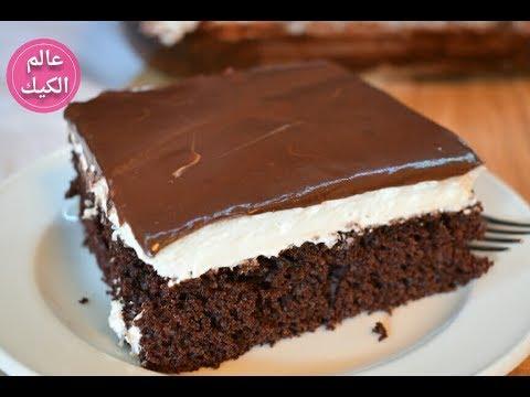 صورة كيكة الشوكولاته مع الصوص , اروع وابسط انواع الكيكة