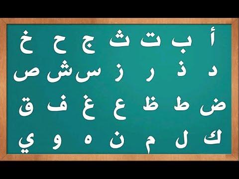 بالصور الحروف الابجدية بالترتيب , اللغة العربية وتعلم الحروف الابجدية 14966 3