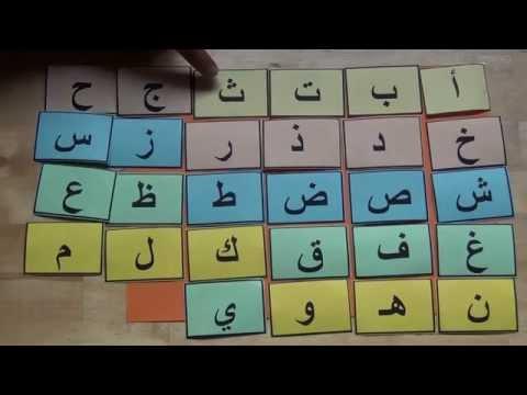 بالصور الحروف الابجدية بالترتيب , اللغة العربية وتعلم الحروف الابجدية 14966 7