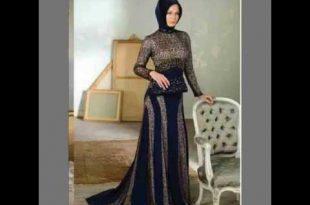 صورة ملابس حفلات للمحجبات , اروع الملابس البسيطة للمحجبات