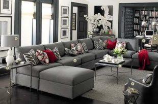 صورة غرف جلوس رمادي , اروع واجمل الغرف الرقيقة الجميلة