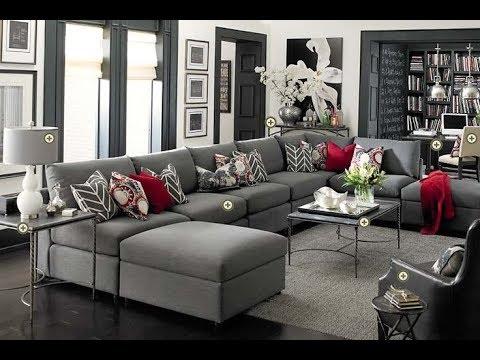 صور غرف جلوس رمادي , اروع واجمل الغرف الرقيقة الجميلة
