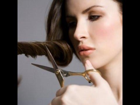 صورة طريقة قص اطراف الشعر , ابسط الطرق البسيطة لقص الشعر