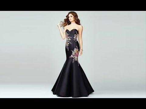 بالصور فساتين سهرة راقيه , ارق واروع الفساتين الرقيقة 16048 7