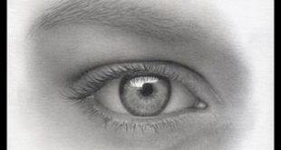 بالصور رسم العين بالرصاص , اروع الرسومات البسيطة للعين 16104 12 310x165