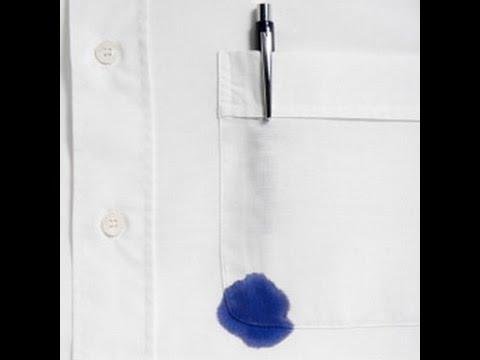 صور بقع الحبر على الملابس , كيفية طلوع الحبر من الملابس