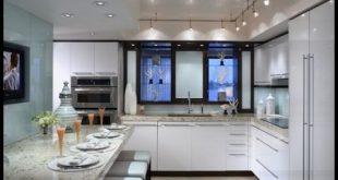 صورة تصاميم مطابخ مفتوحة على الصالة , اروع المطابخ الجميلة الرقيقة