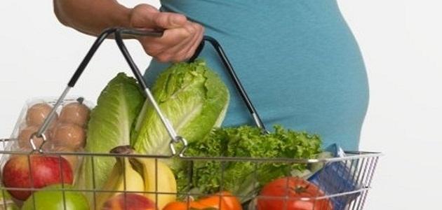 صورة تغذية الحامل في الشهر الاول , افضل نظام غذائي للحمل في الشهر الاول